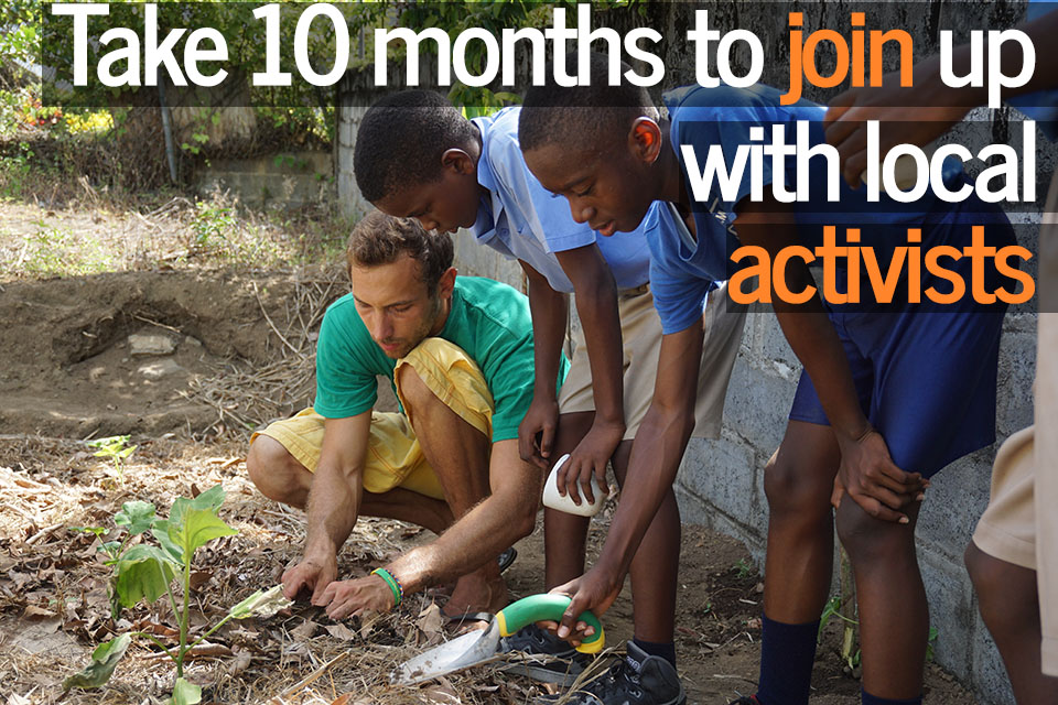 International volunteer opportunities in Sub-Saharan Africa.