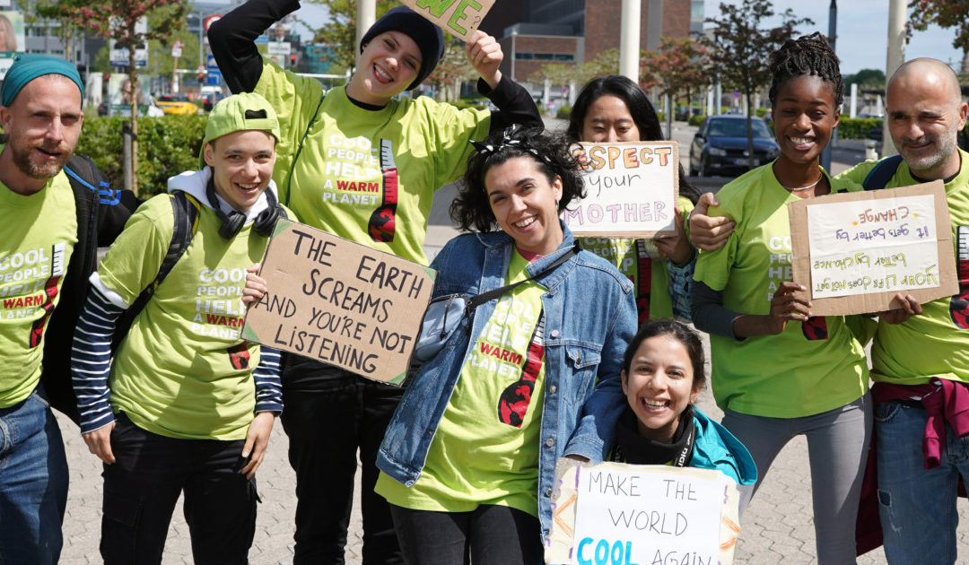 Climate March in Copenhagen