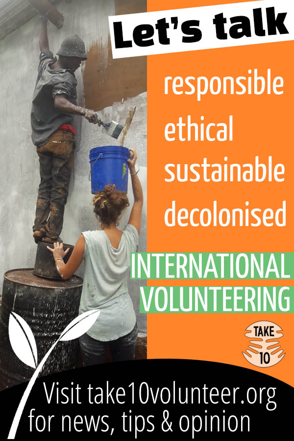 Responsible volunteering abroad, ethical volunteering