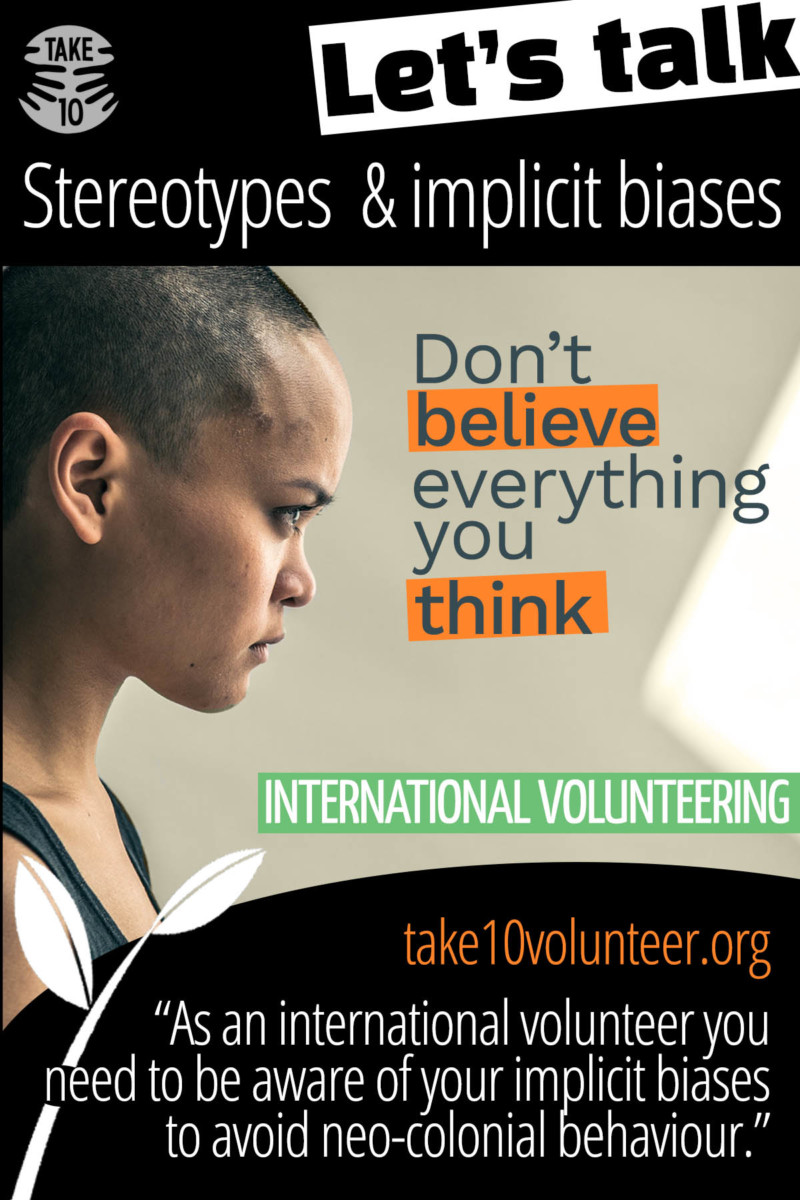 Stereotypes and Implicit Bias: Avoiding neo-colonial volunteering
