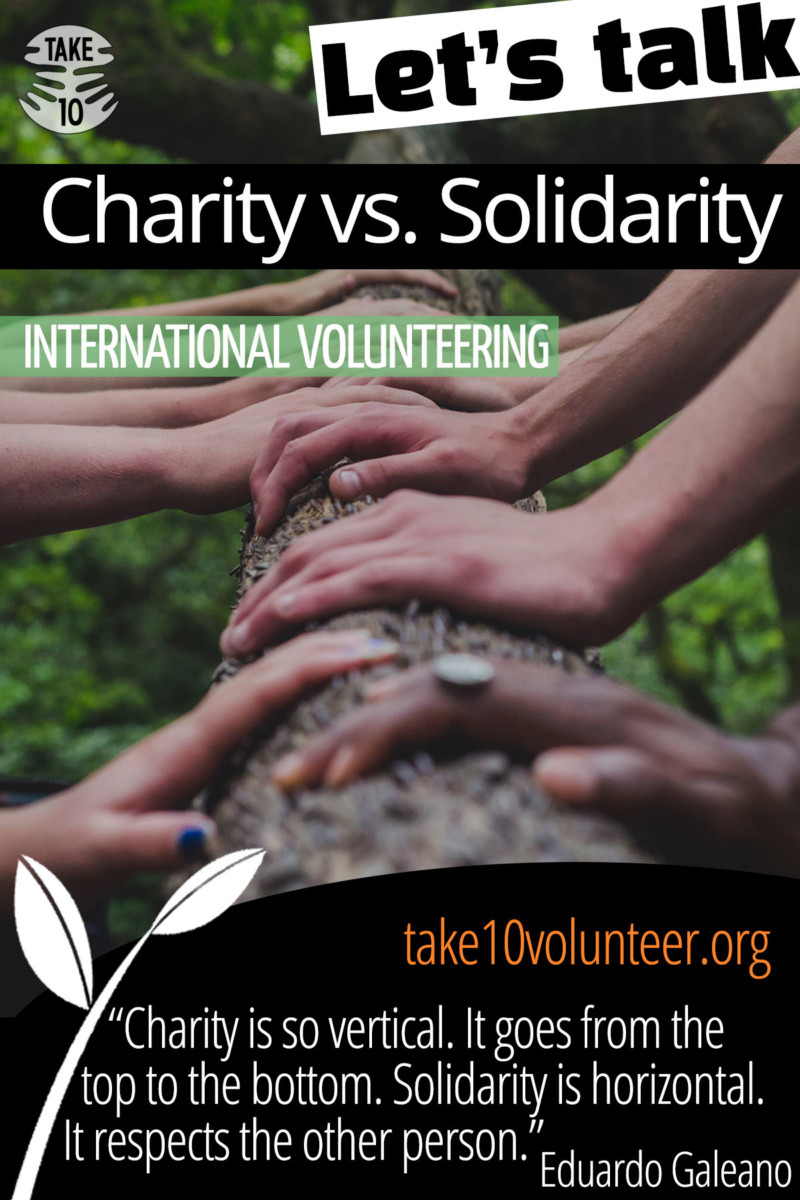 Charity or Solidarity? Global Justice and Solidarity Politics