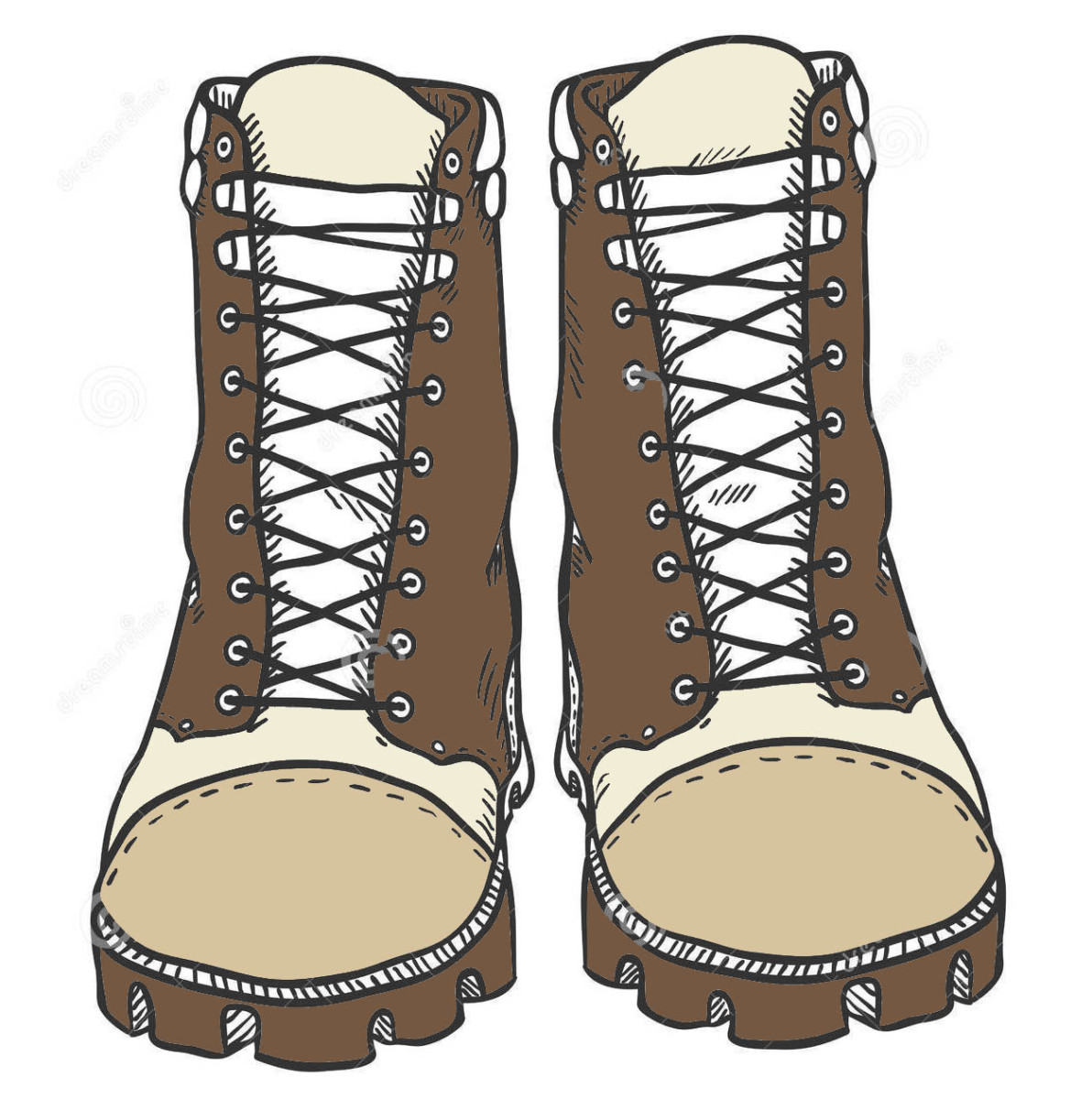 Malawi packing list, item 3: Boots made for walking