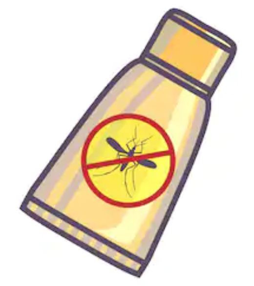 Malawi packing list, item 7: bug spray
