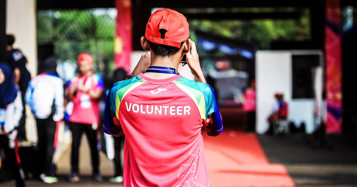 Why should you volunteer