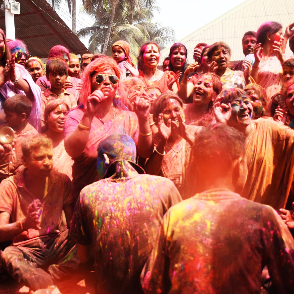 Holi: The Festival Of Colors India