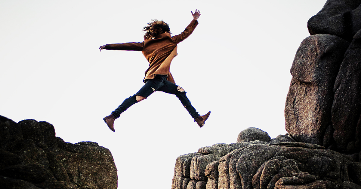 Take the leap - make a change