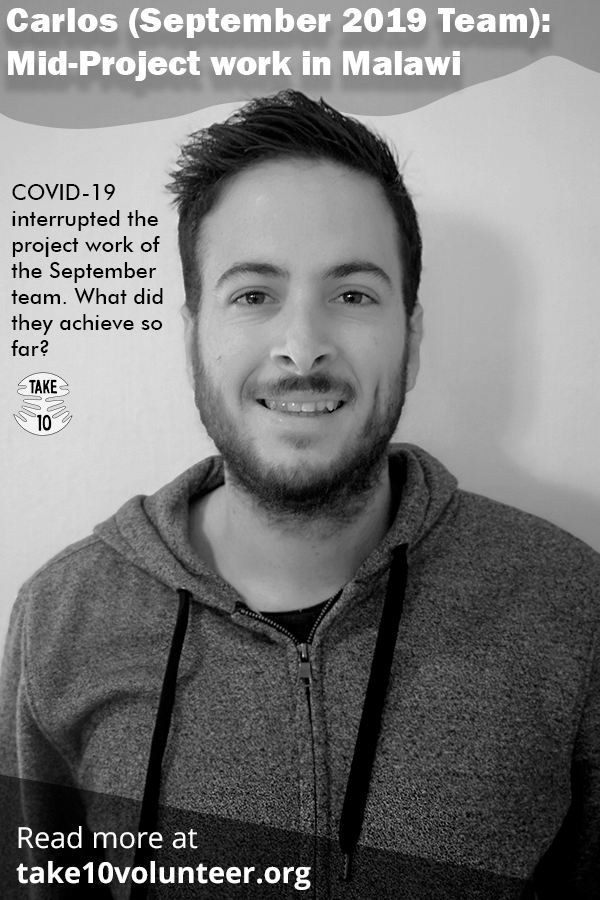 Carlos September Take 10 Volunteer Team