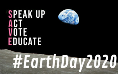 Earth Day 2020 · SAVE Earth